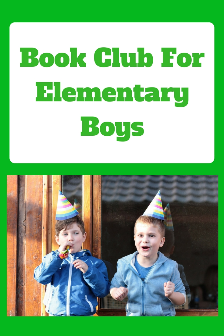 Book Club for Elementary Boys