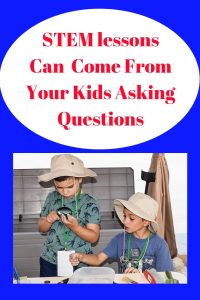 STEM lessons from kids asking questions