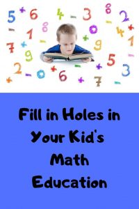 gaps in kids math education