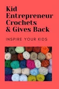 kid entrepreneur crochets