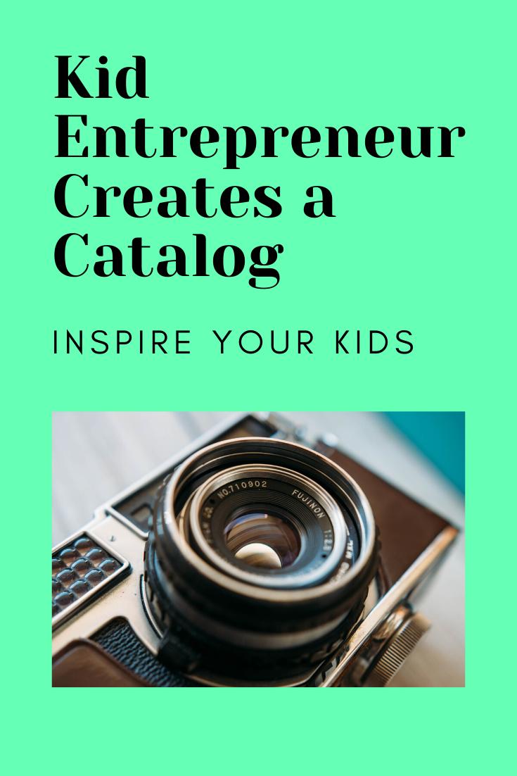 kid entrepreneur photographer