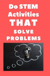 stem activities that solve problems