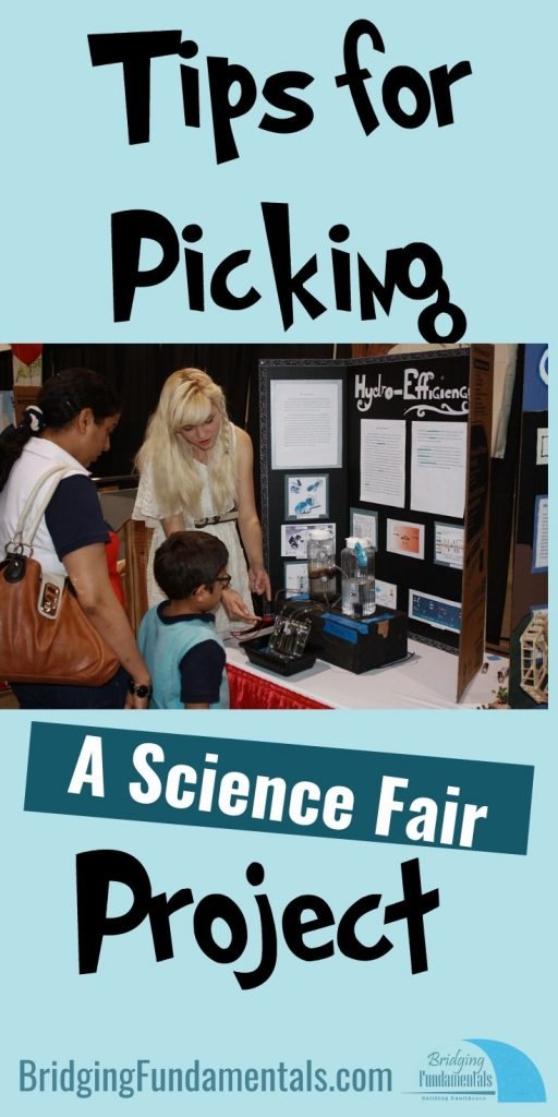 Tips for Picking a Science Fair Project