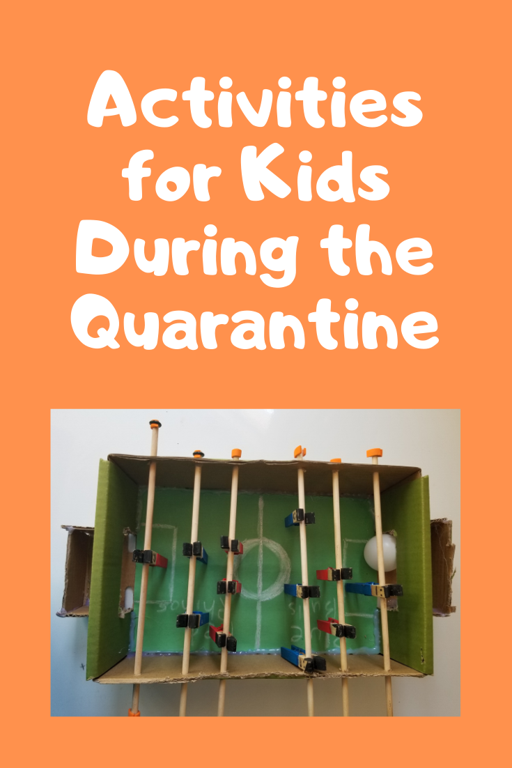 activities for kids during quarantine