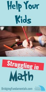 Help Your Kids Struggling in Math