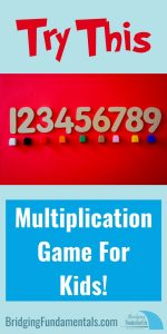 Try This Multiplication Game for Kids STEM