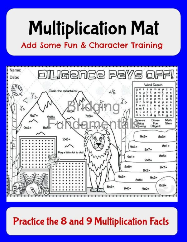 multiplication math fun