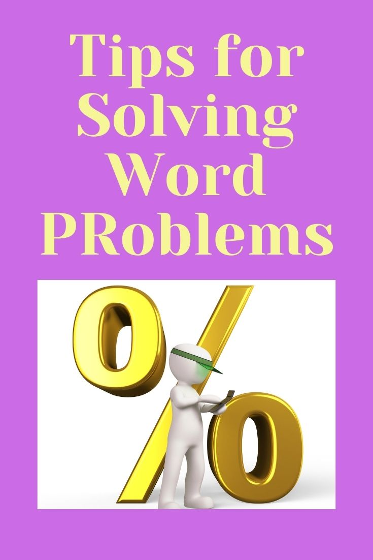 tips to help kids with solving word problems
