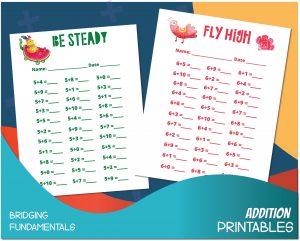 addition worksheets for kids