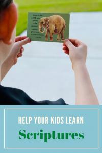 help kids memorize scriptures