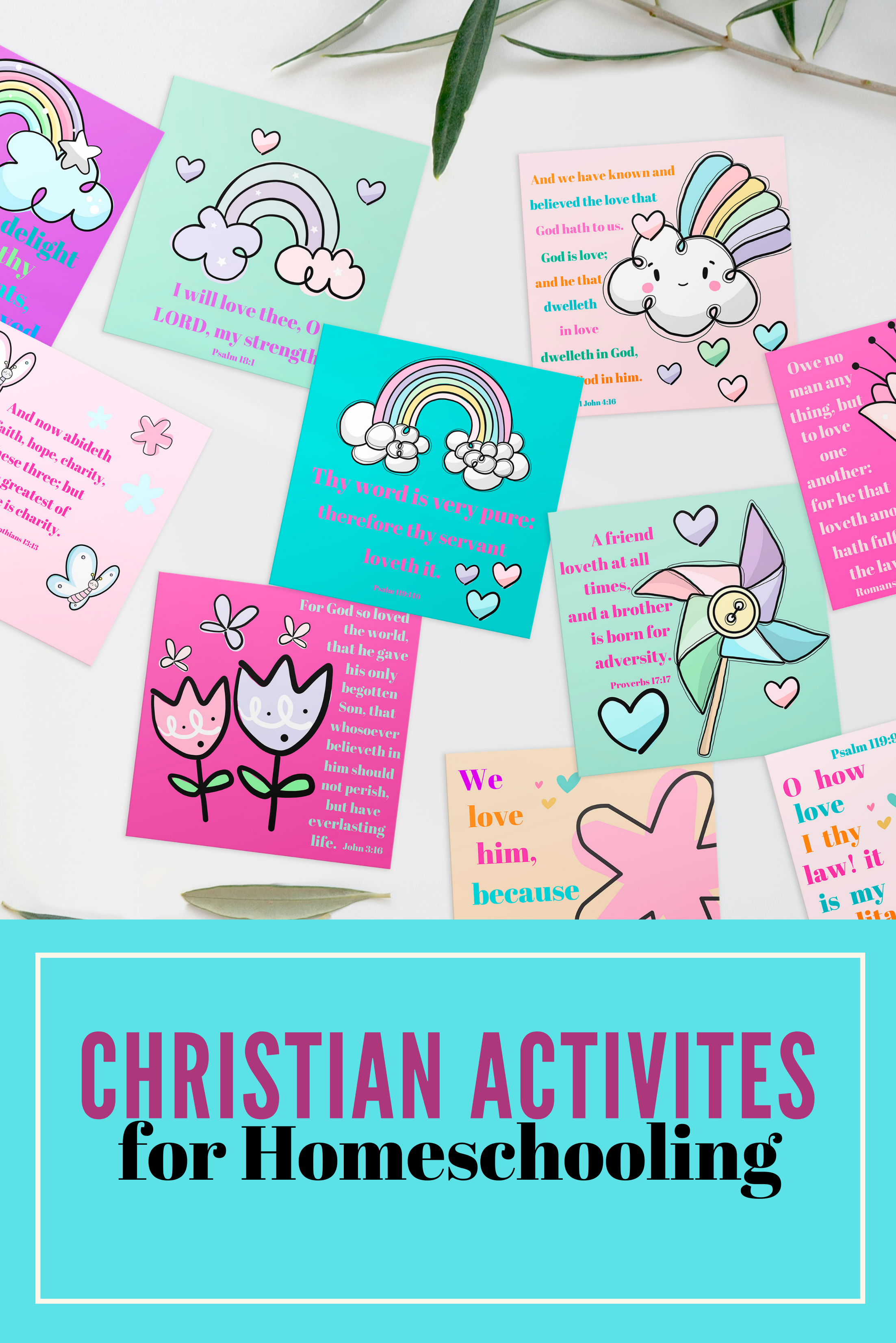 scripture cards for kids