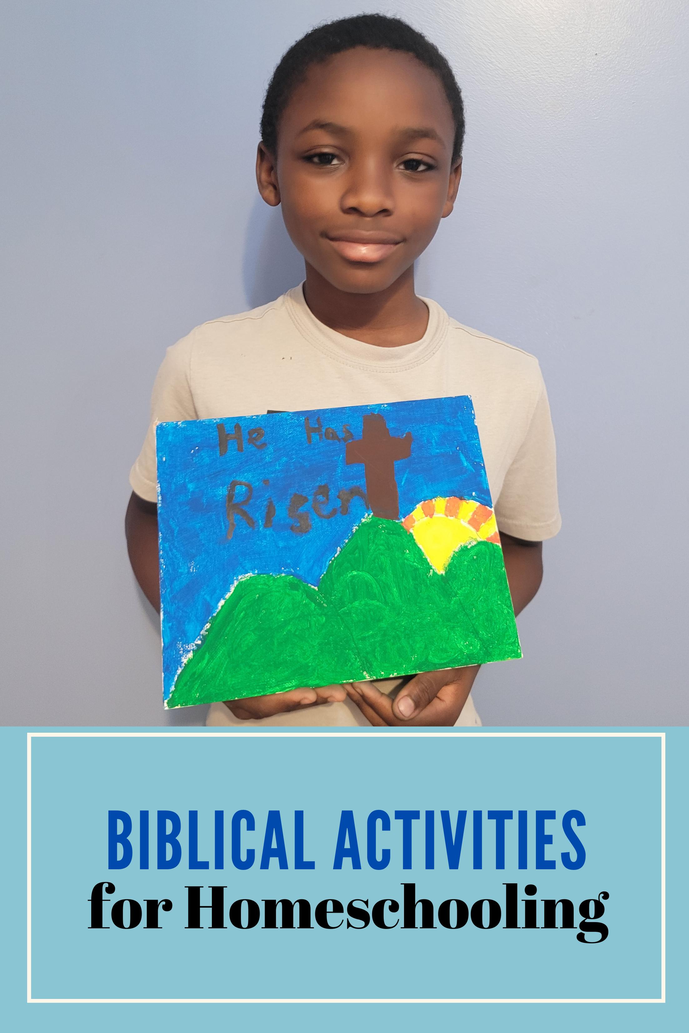 Biblical activities for kids